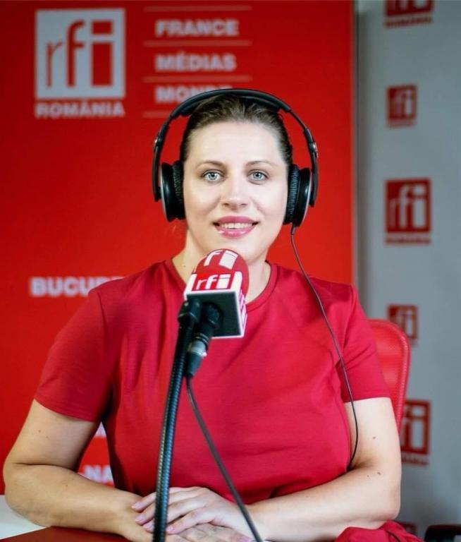 Valeria Vițu (Radio France Internationale)